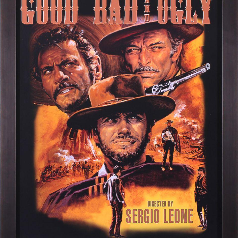 Plagát filmu Dobrý, zlý a škaredý
