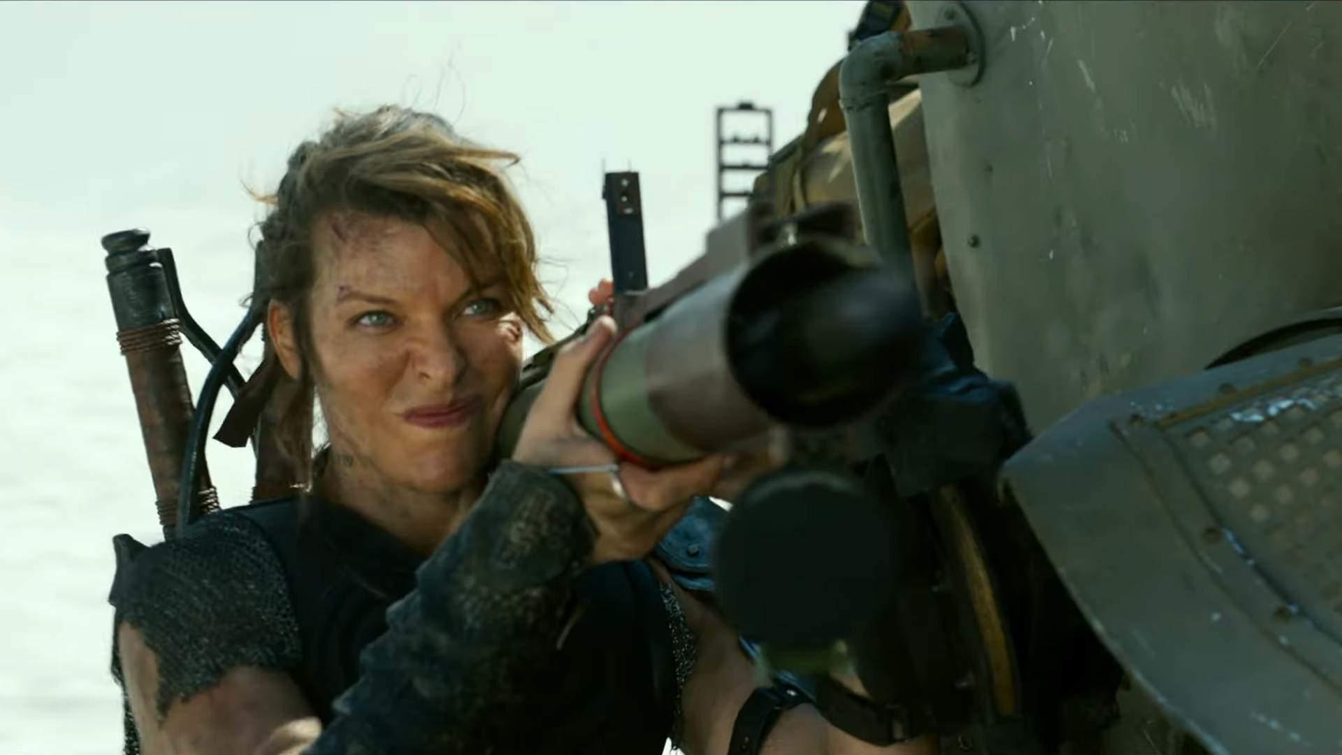 Mila Jovovich bojuje proti príšenrám, ktoré sú veľké ako bytovka