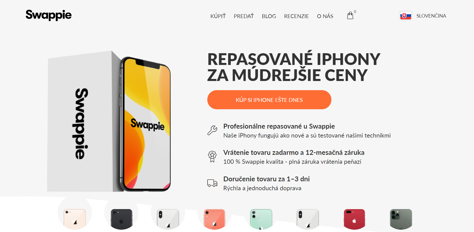 Swappie ponúka repasované iPhony za múdrejšie ceny