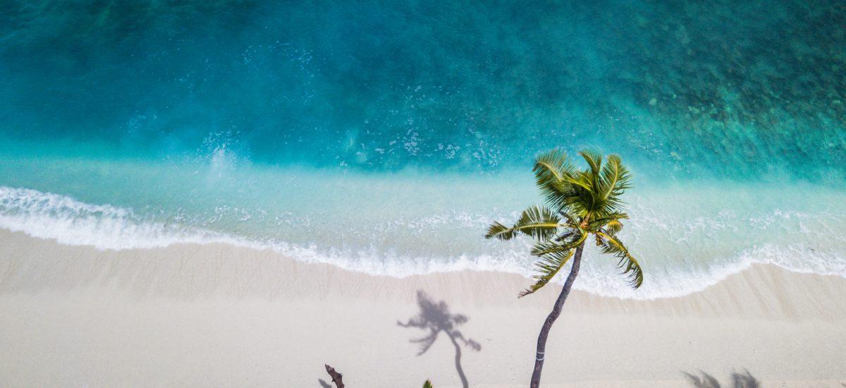 pláž na ostrove