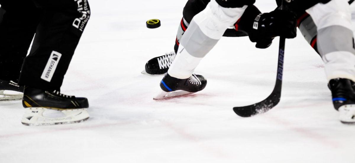hokej na štadióne