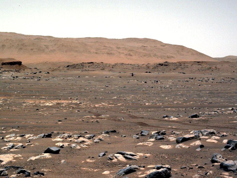 Kamenný povrch Marsu