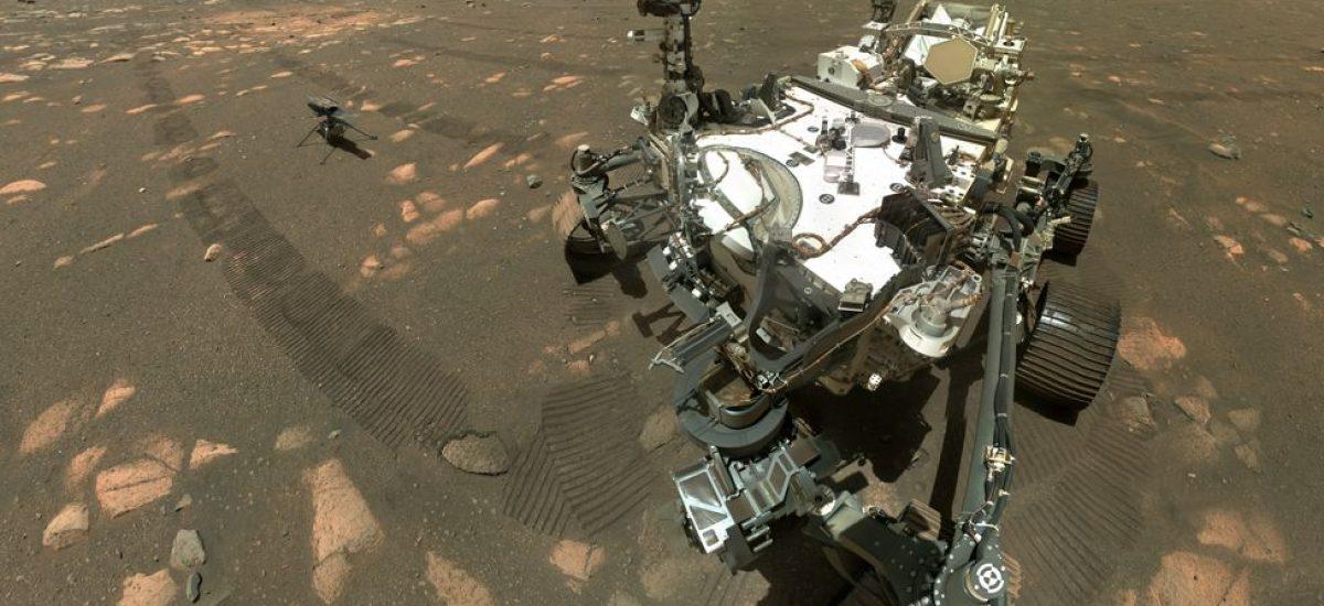 Vrtuľník sa pripravuje na prvý vzlet na Marse