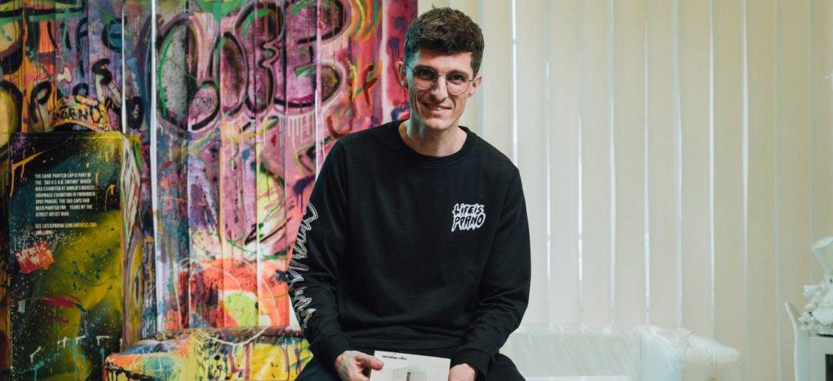 Tino Hrnčiar je podnikateľ, zakladateľ značky Life is Porno