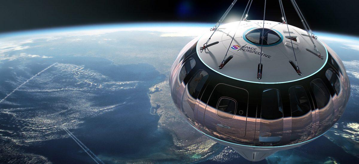 Svadba vo vesmíre so Space Perspective