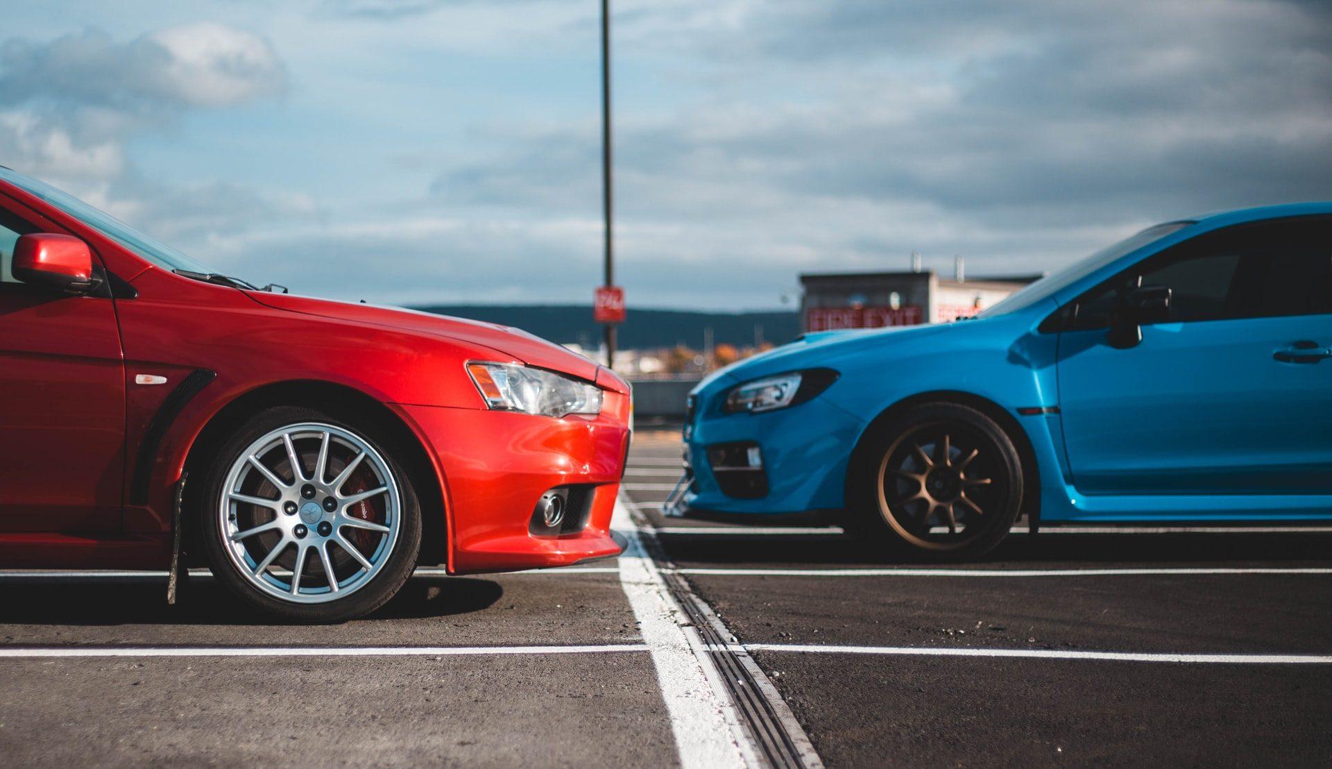 dve autá