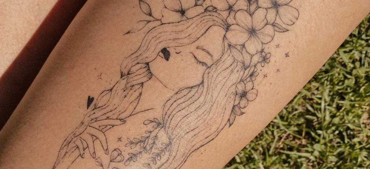 Tetovanie od slečny Anna