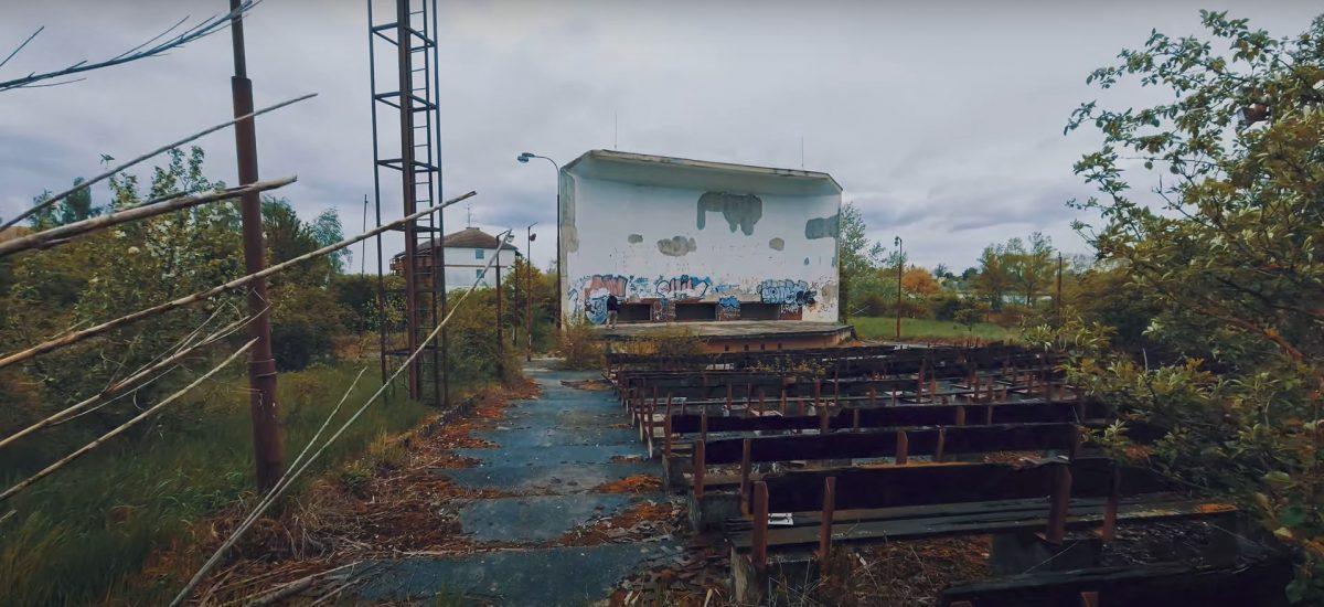 Opustené letné kino