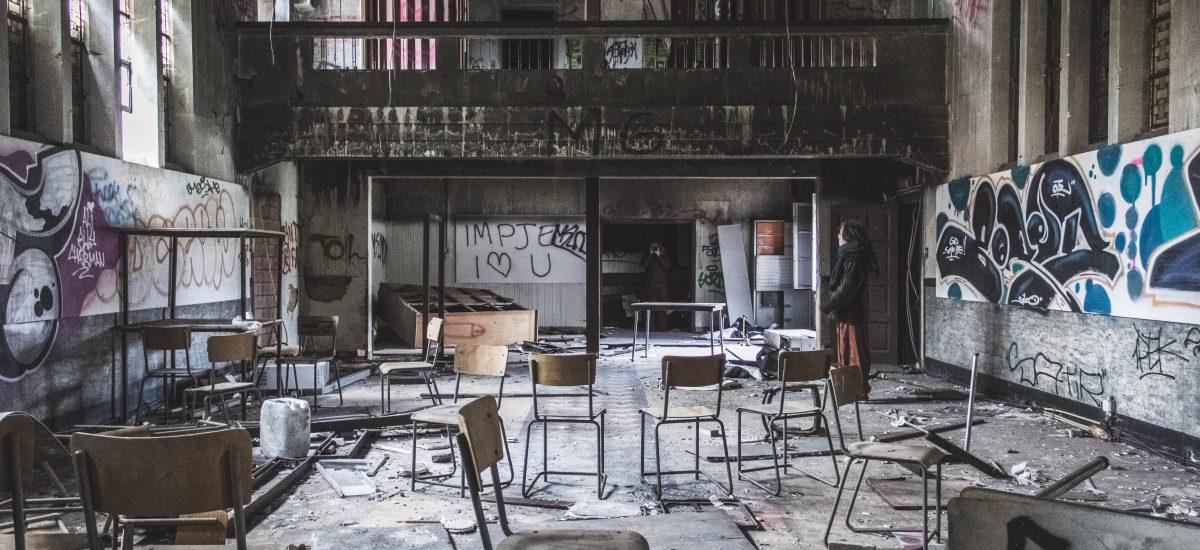 Opustená reštaurácia