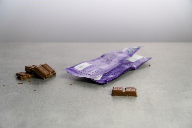 Obal od čokolády