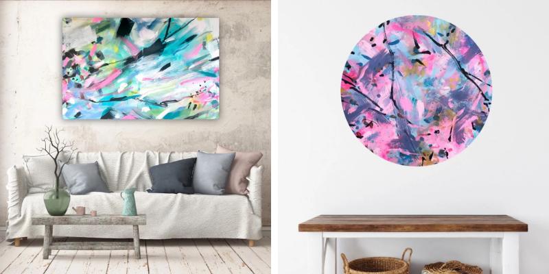 Ľudia viac kupujú moje už namaľované obrazy, ale nebránim sa ani zákazkovej tvorbe