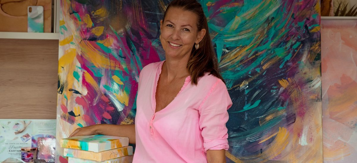 Maliarka Katarína Sujová Kalmanová prezradila, aká bola jej cesta k maľbe