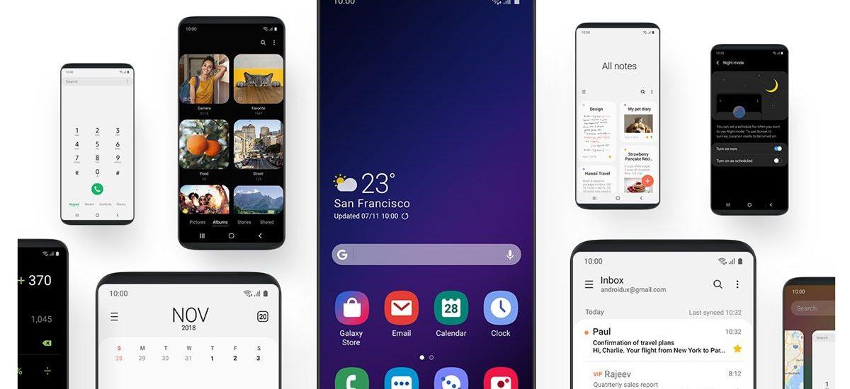 Samsung pripravuje Android 12 s rozhraním One UI 4.0