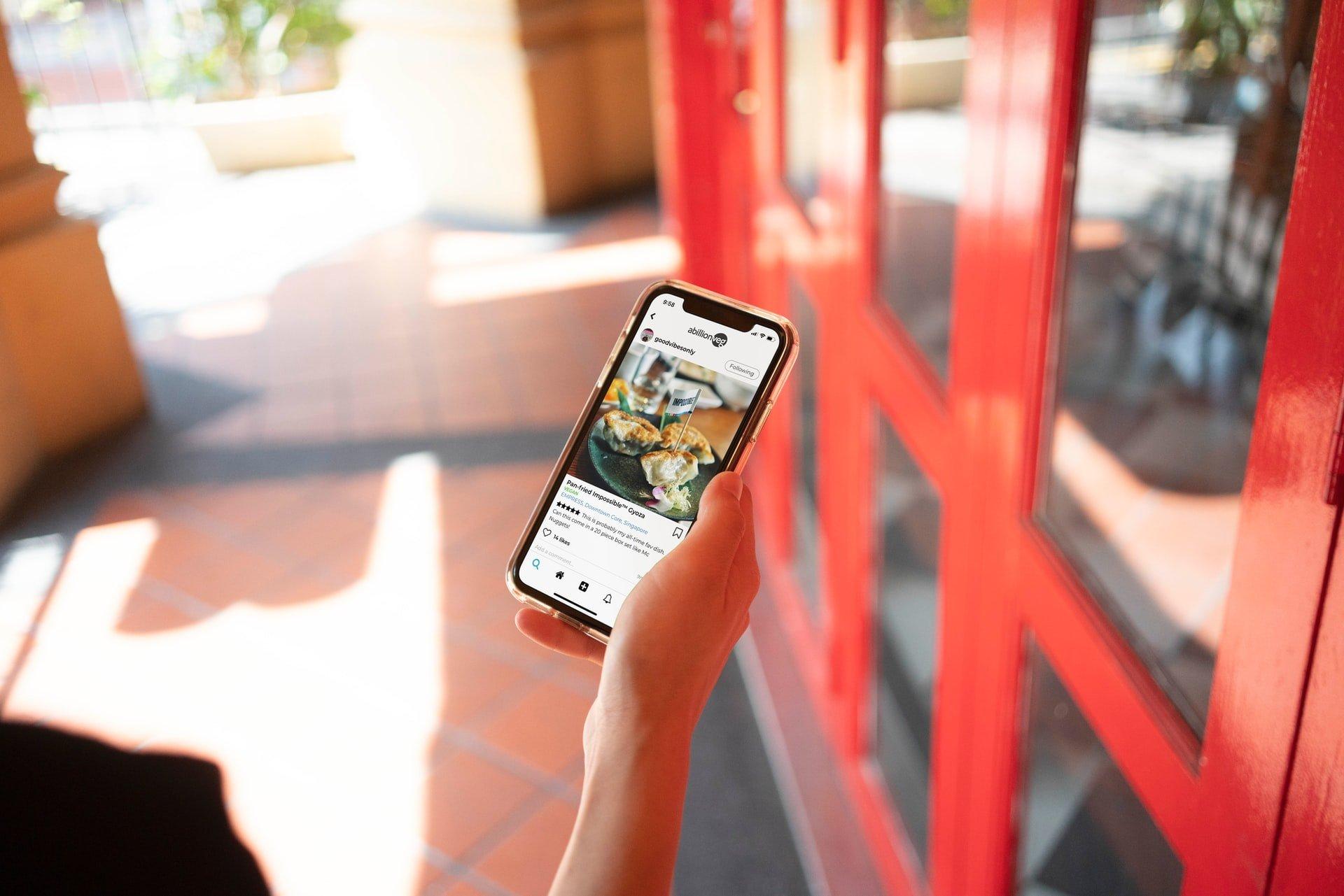 mobil v ruke