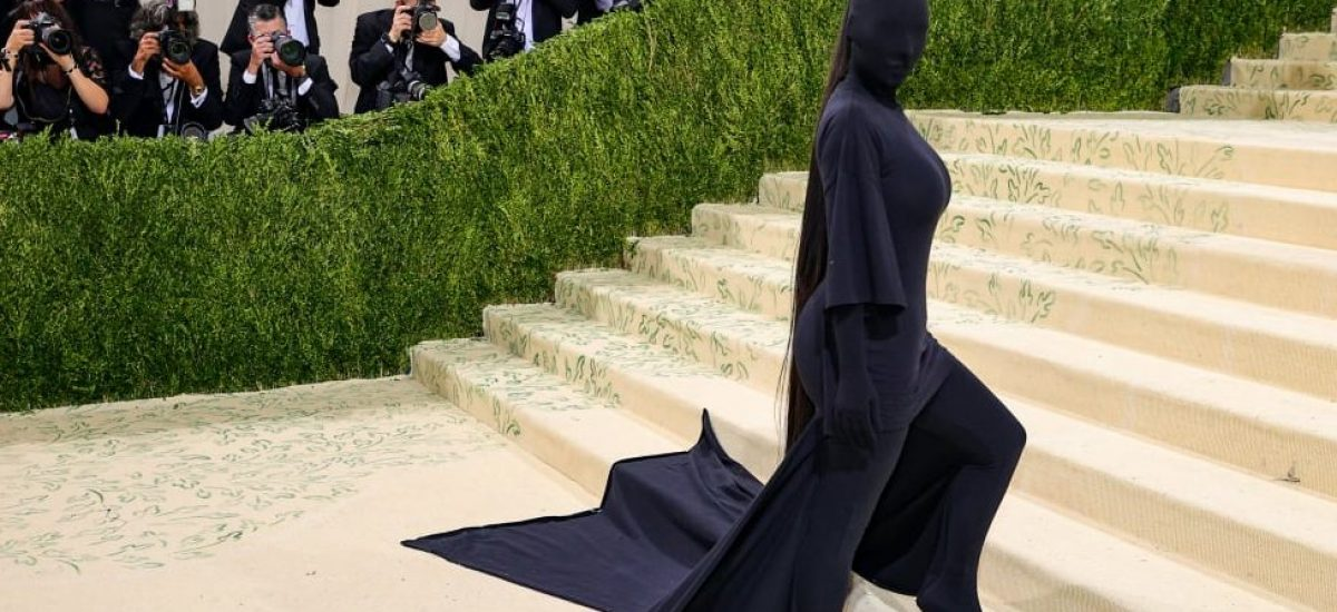 Kim Kardashian-West na Met Gala 2021