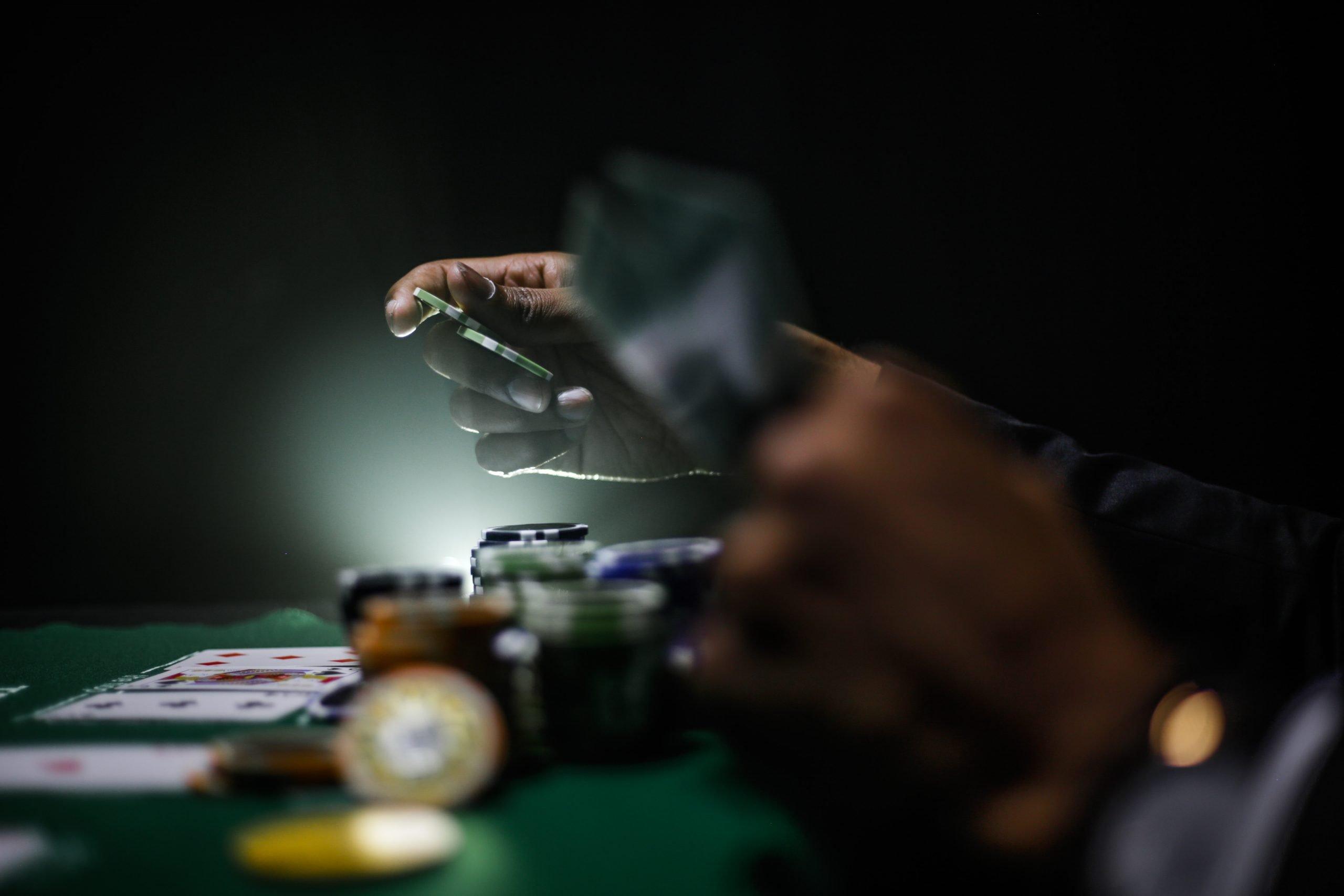 Stávkovanie v kasíne