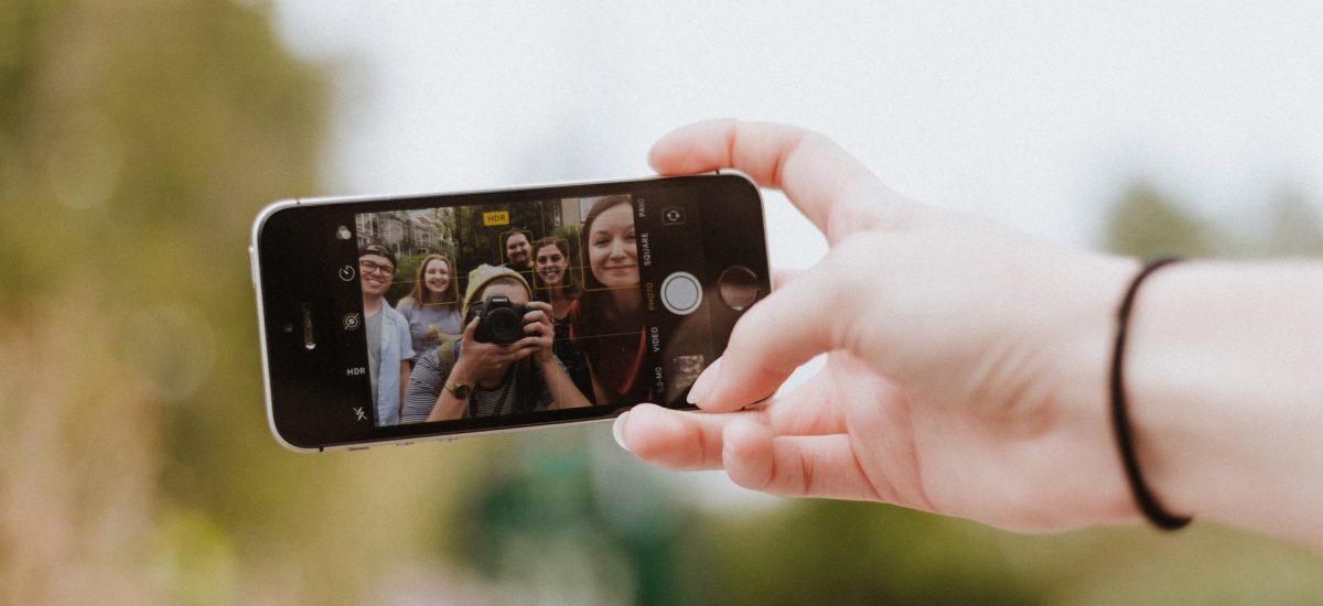 predná kamera mobilu
