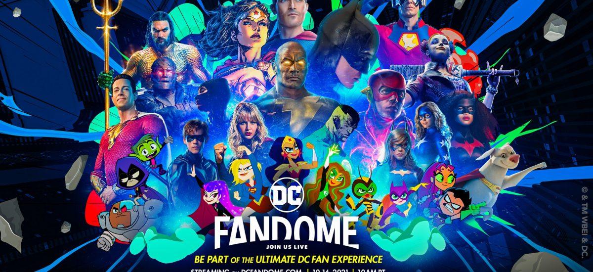 V sobotu sleduj online event DC Fandome
